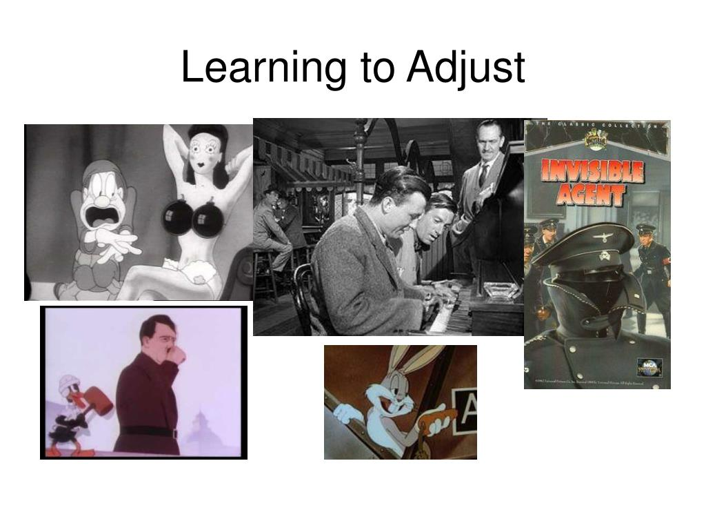 Learning to Adjust