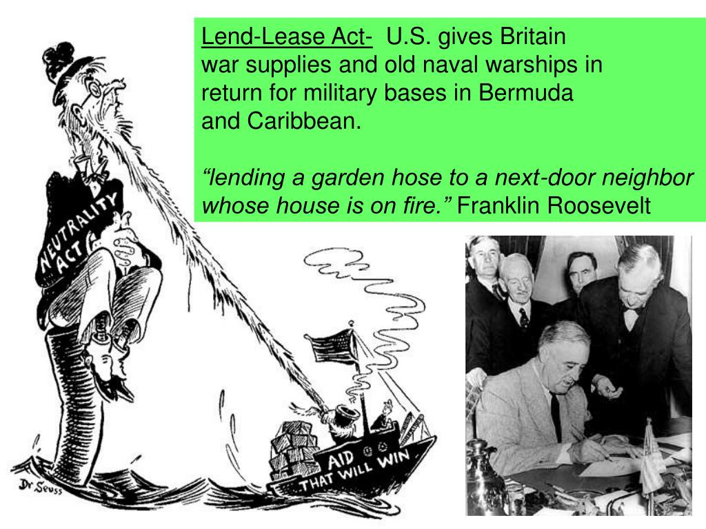 Lend-Lease Act-