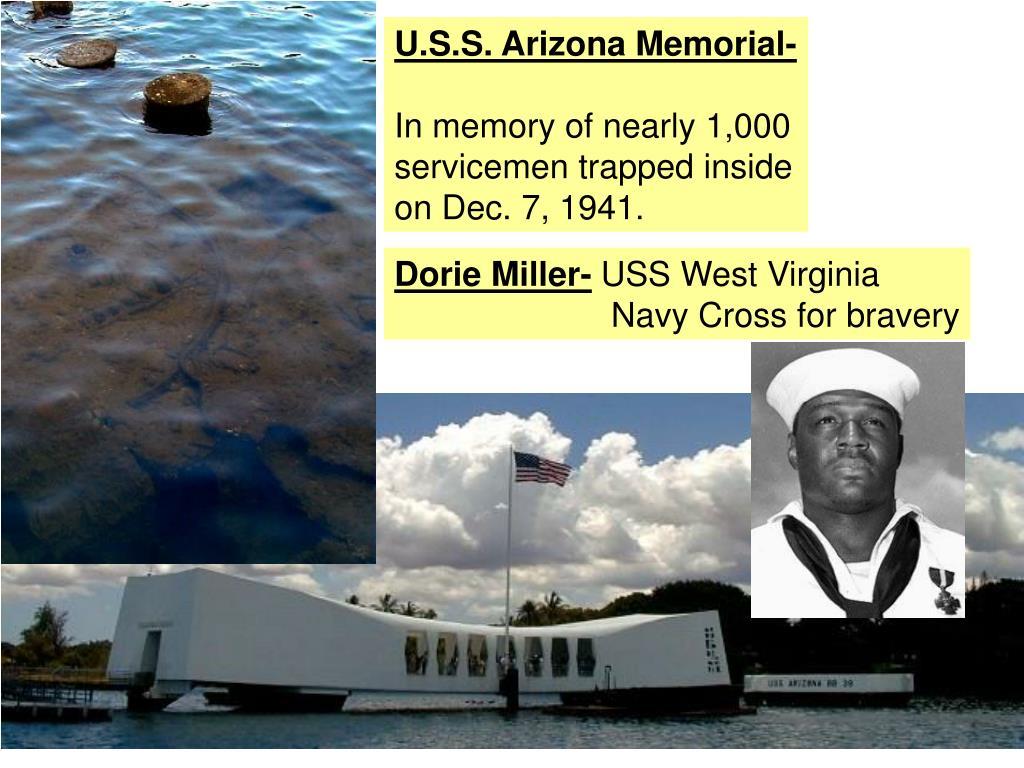 U.S.S. Arizona Memorial-