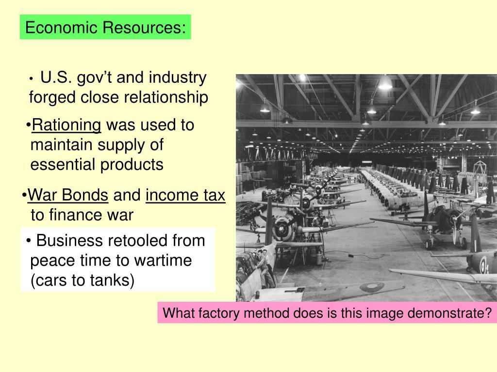 Economic Resources: