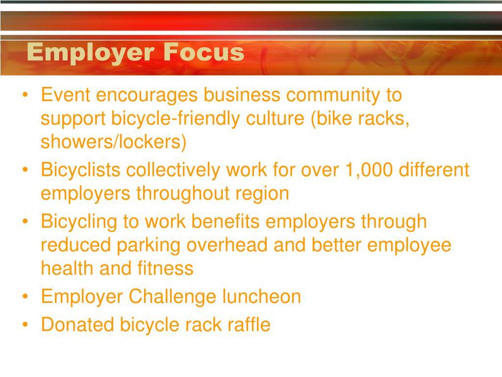 Employer Focus
