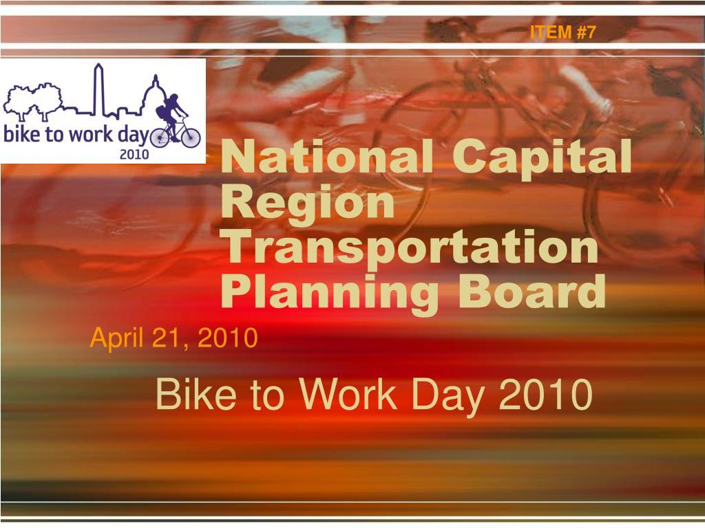 national capital region transportation planning board l.