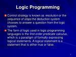 logic programming1