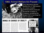 1966 animal welfare act passed