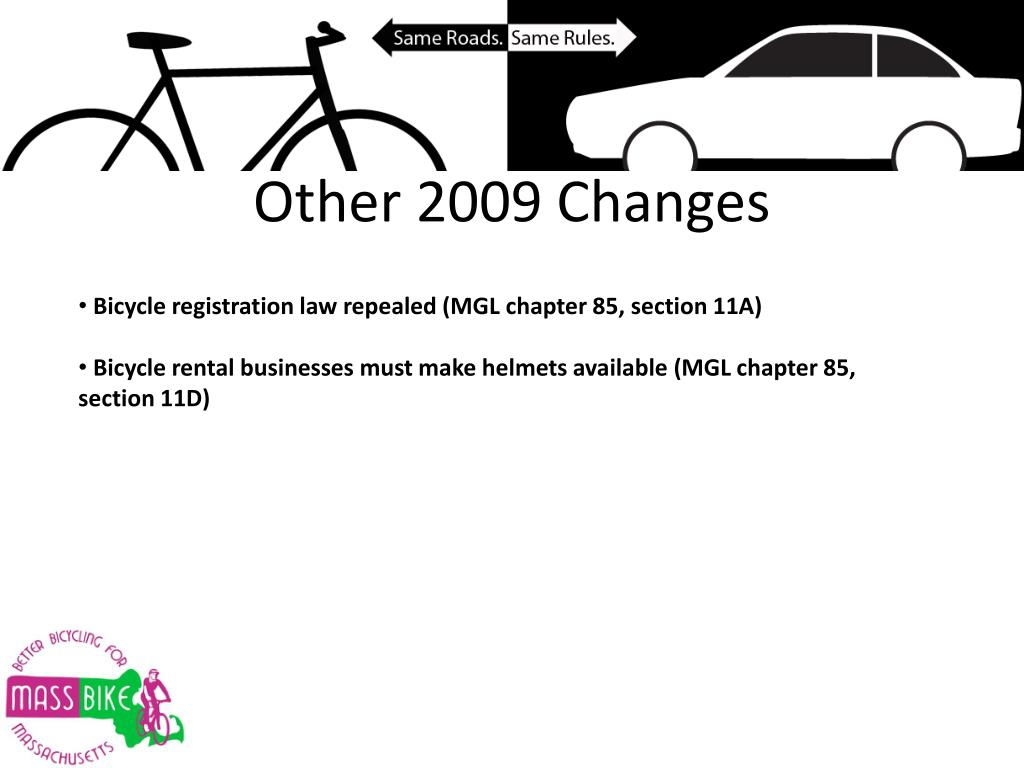 Other 2009 Changes