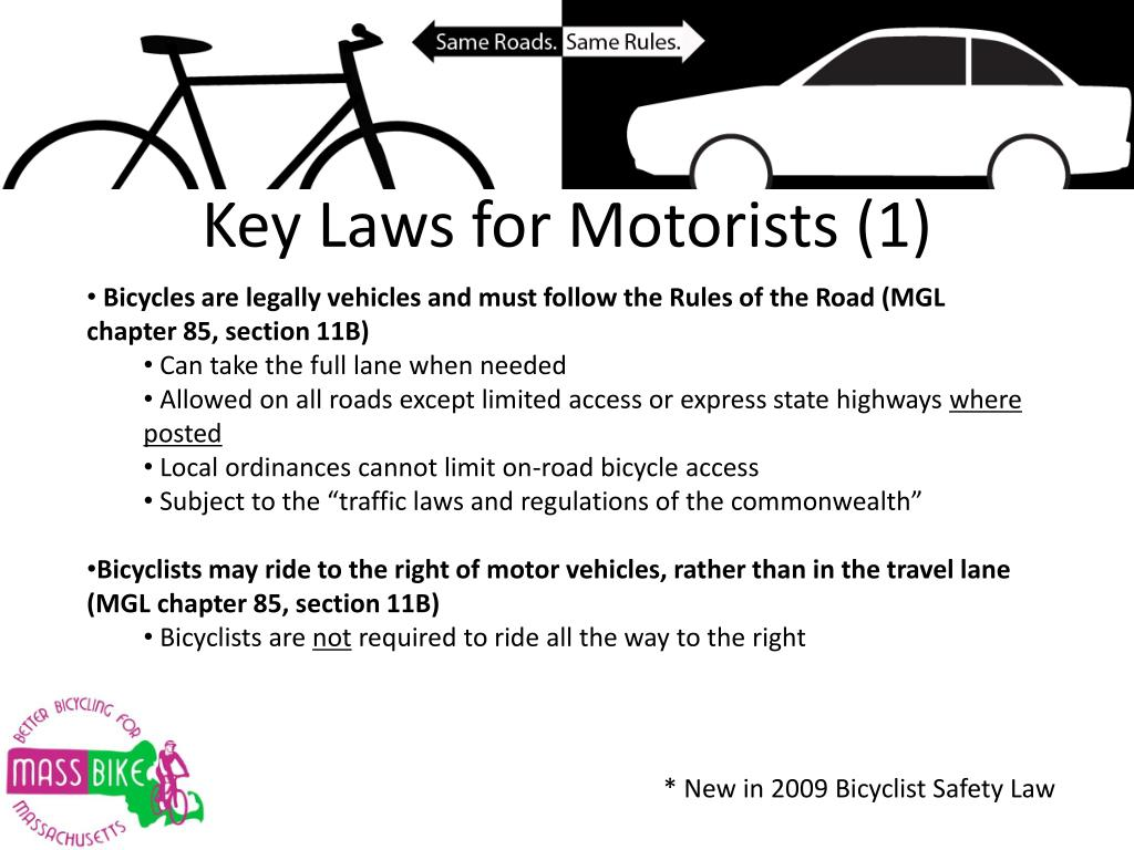 Key Laws for Motorists (1)