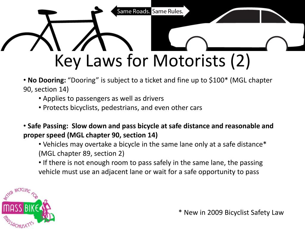 Key Laws for Motorists (2)