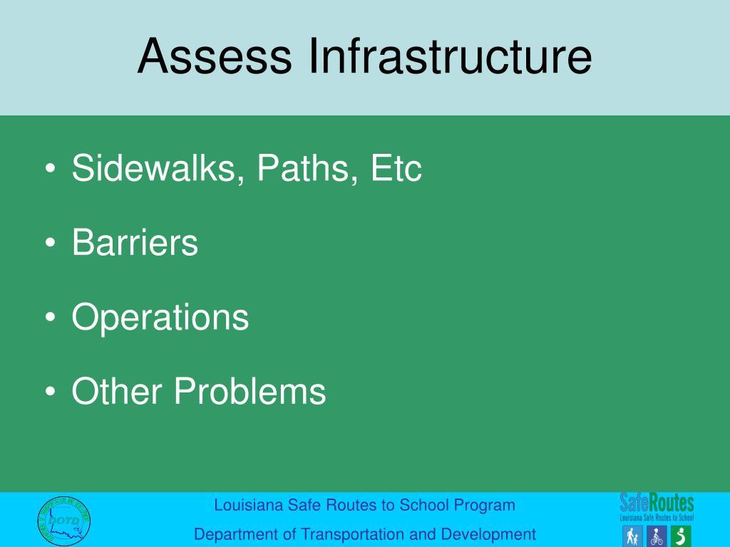 Sidewalks, Paths, Etc