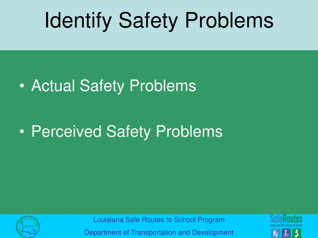 Actual Safety Problems