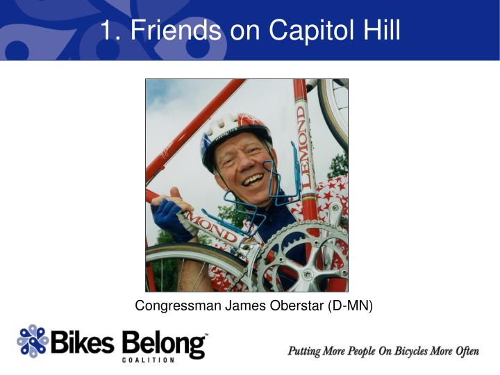 1 friends on capitol hill