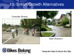 10 smart growth alternatives