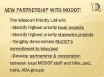 new partnership with modot7