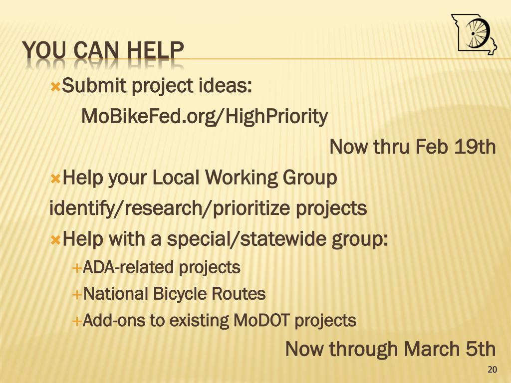 Submit project ideas: