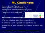 ml challenges