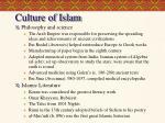 culture of islam