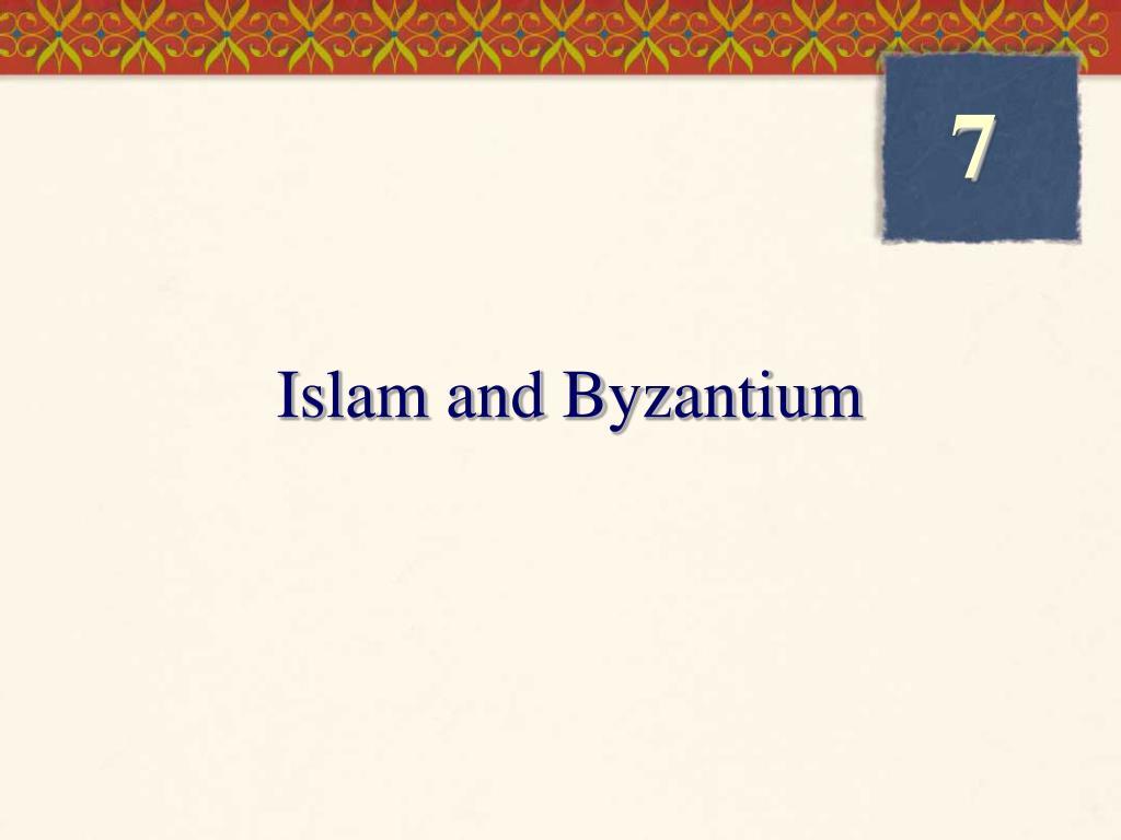 islam and byzantium l.