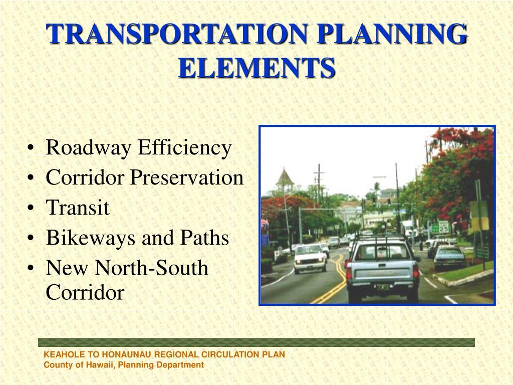 Roadway Efficiency