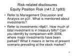 risk related disclosures equity position risk n41 2 1p93