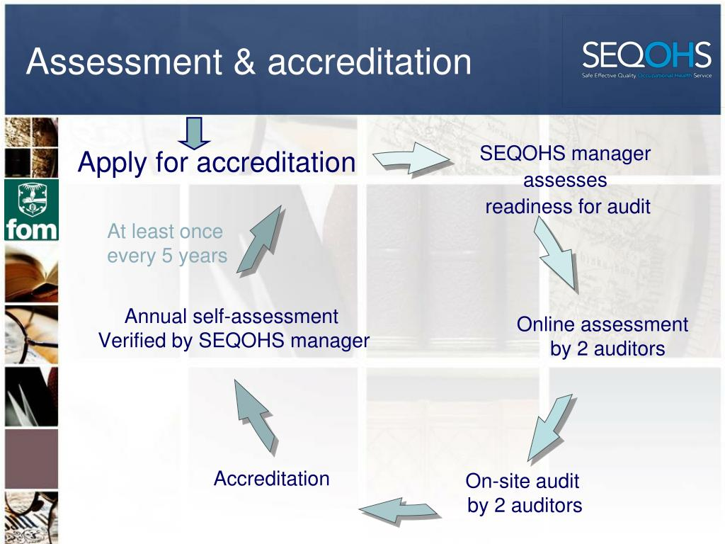 Assessment & accreditation