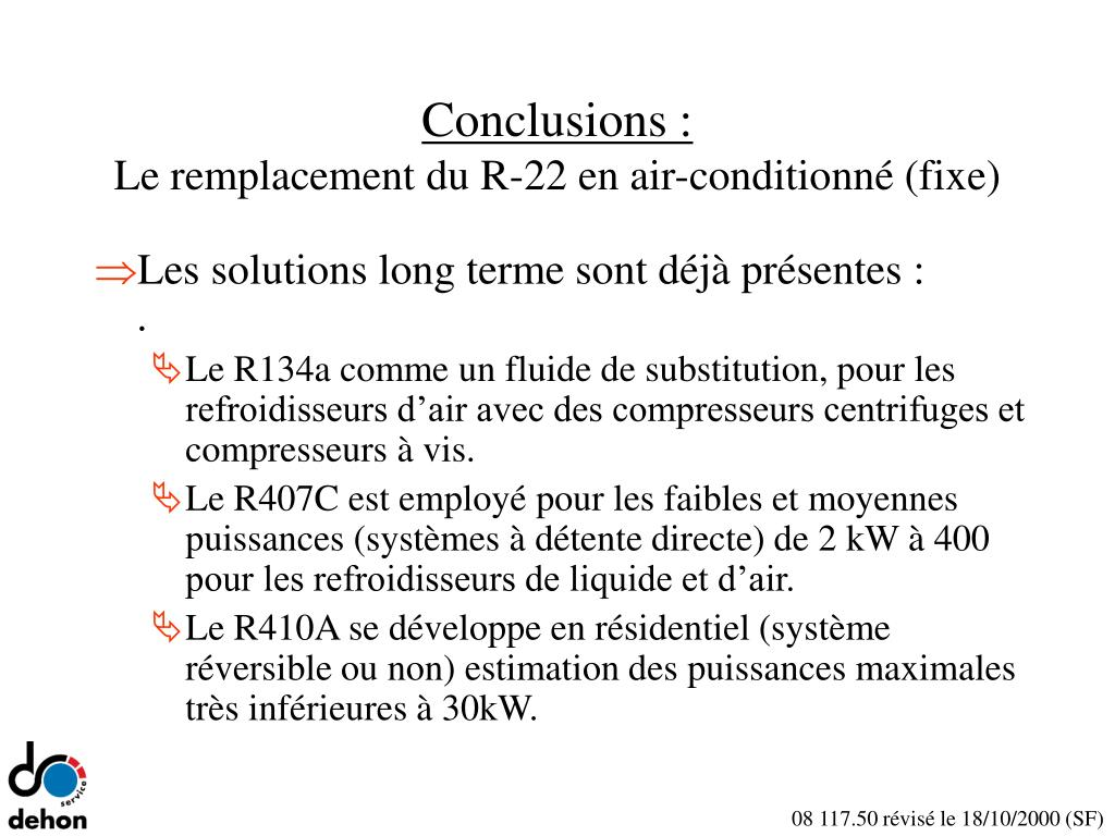 Conclusions :