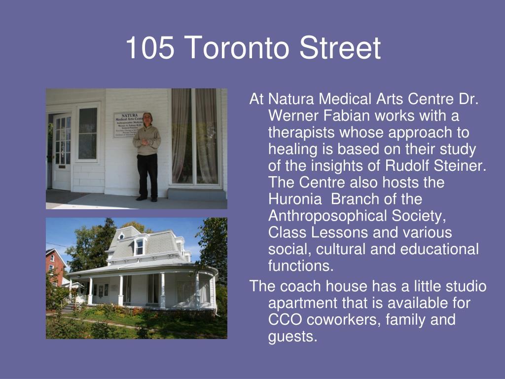 105 Toronto Street