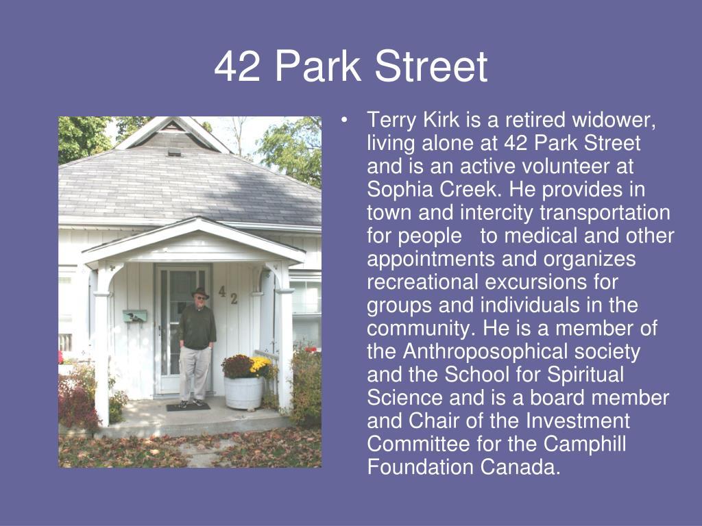 42 Park Street