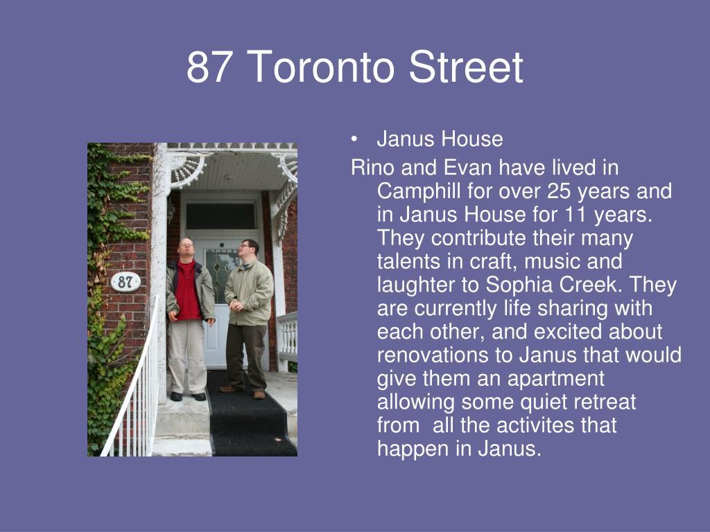 87 Toronto Street