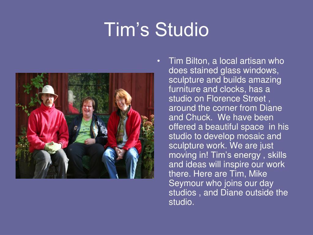 Tim's Studio