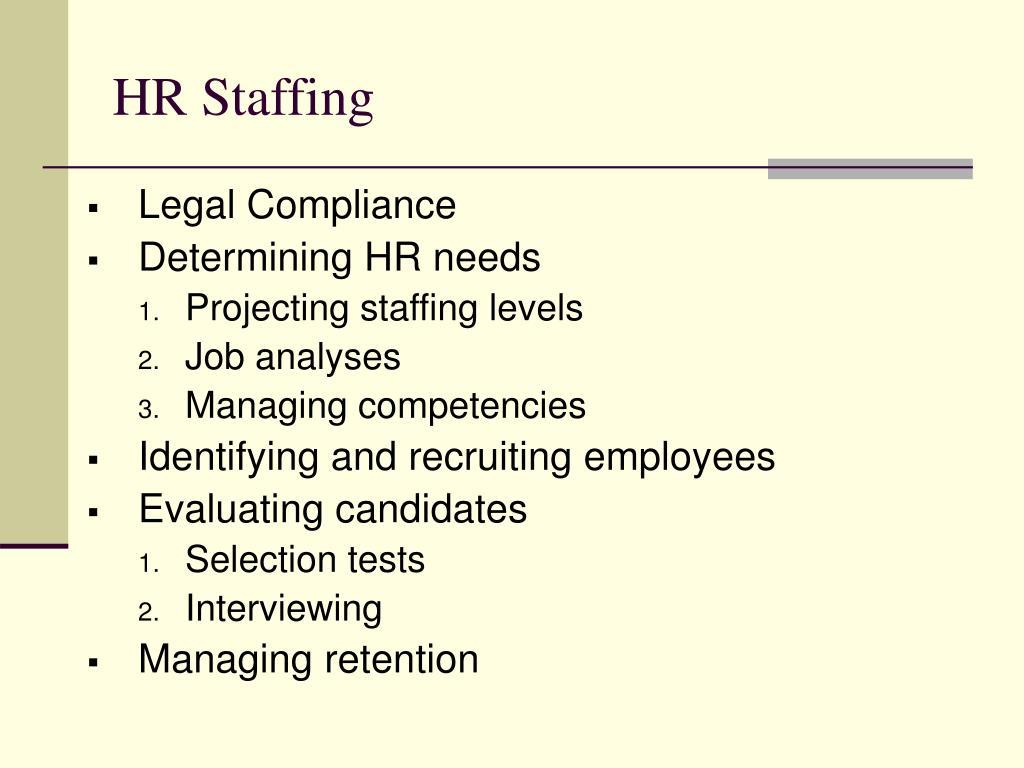 HR Staffing