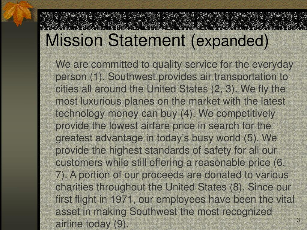 Mission Statement (