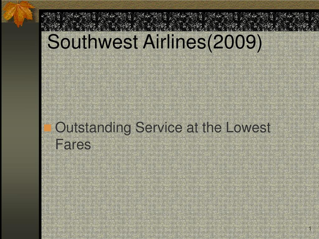 Southwest Airlines(2009)