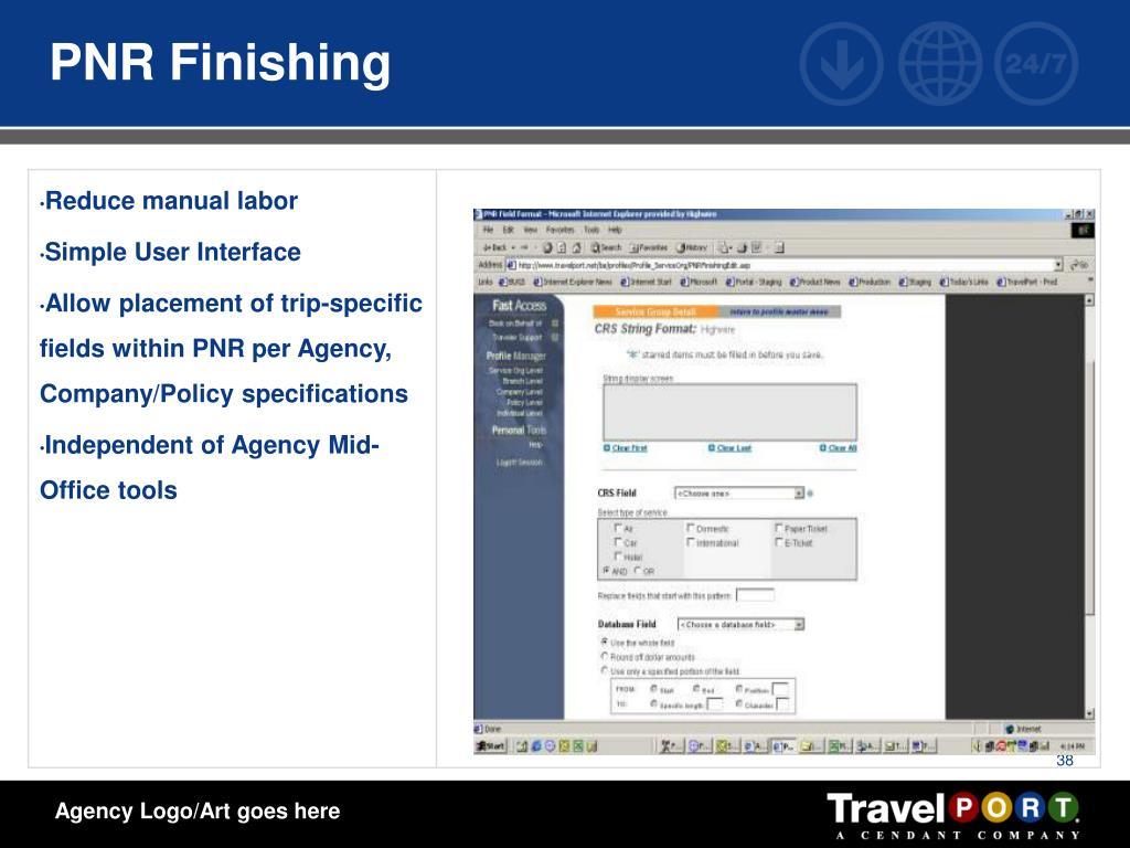 PNR Finishing