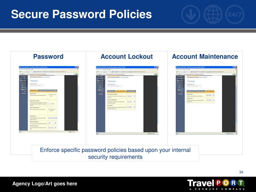 Secure Password Policies