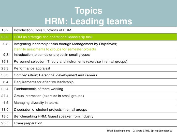 hrm research topics Research in personnel and human resources management is designed to promote theory and research on important substantive and methodological topics in the field of human resources management the series is published yearly and includes papers on issues of cutting edge importance by some of the very best scholars in the field.