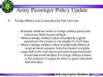 army passenger policy update31