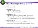 army passenger policy update35