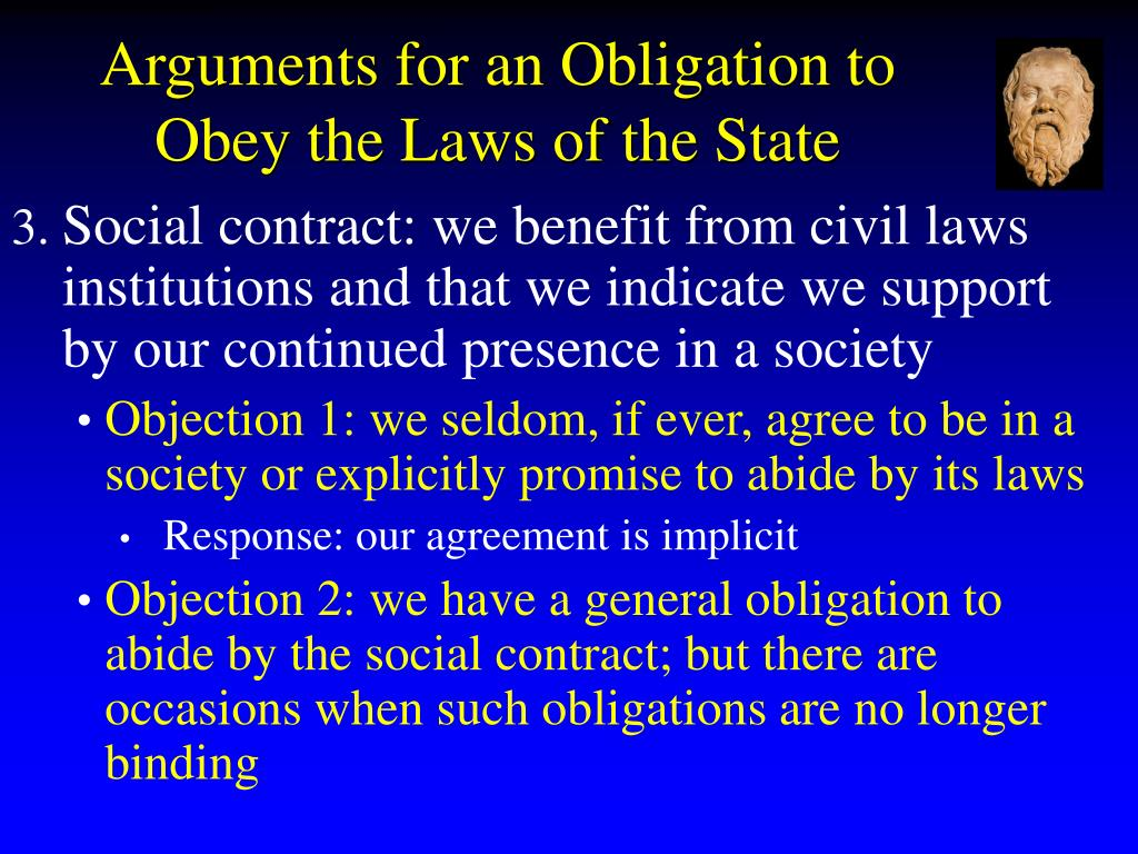 socrates on justice law and the obligation to obey the state essay