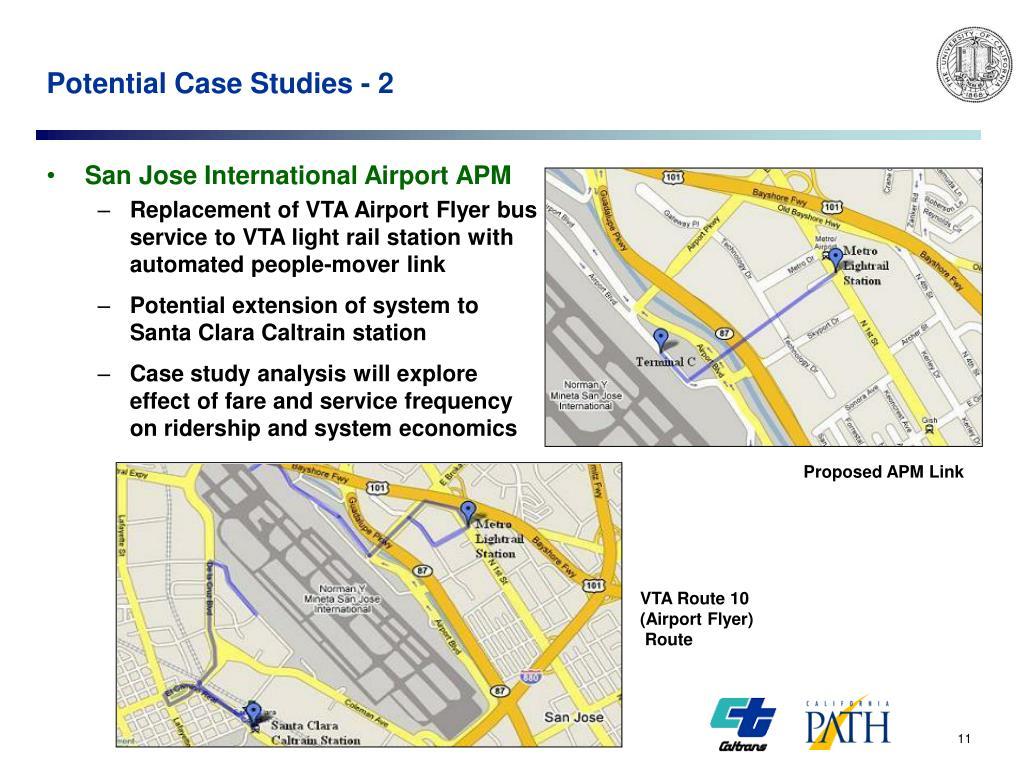 Potential Case Studies - 2