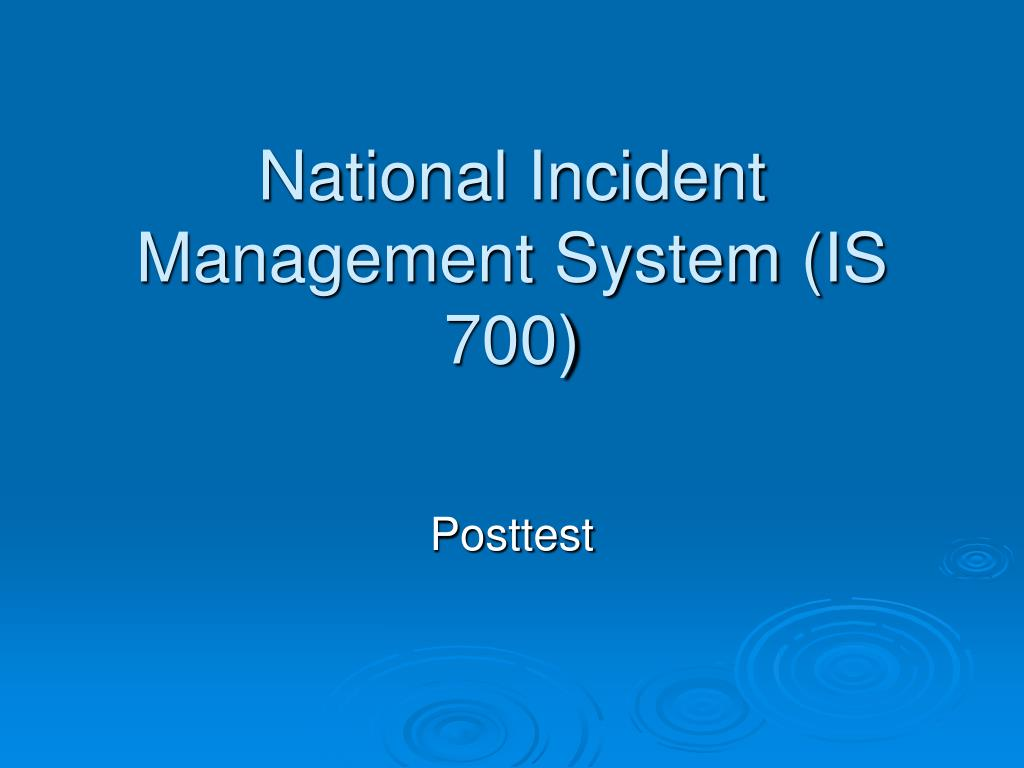 a description of national incident management system nims as an approach to incident management The national incident management system (nims) defines this comprehensive approach nims guides all levels of government, nongovernmental organizations (ngo), and the private.