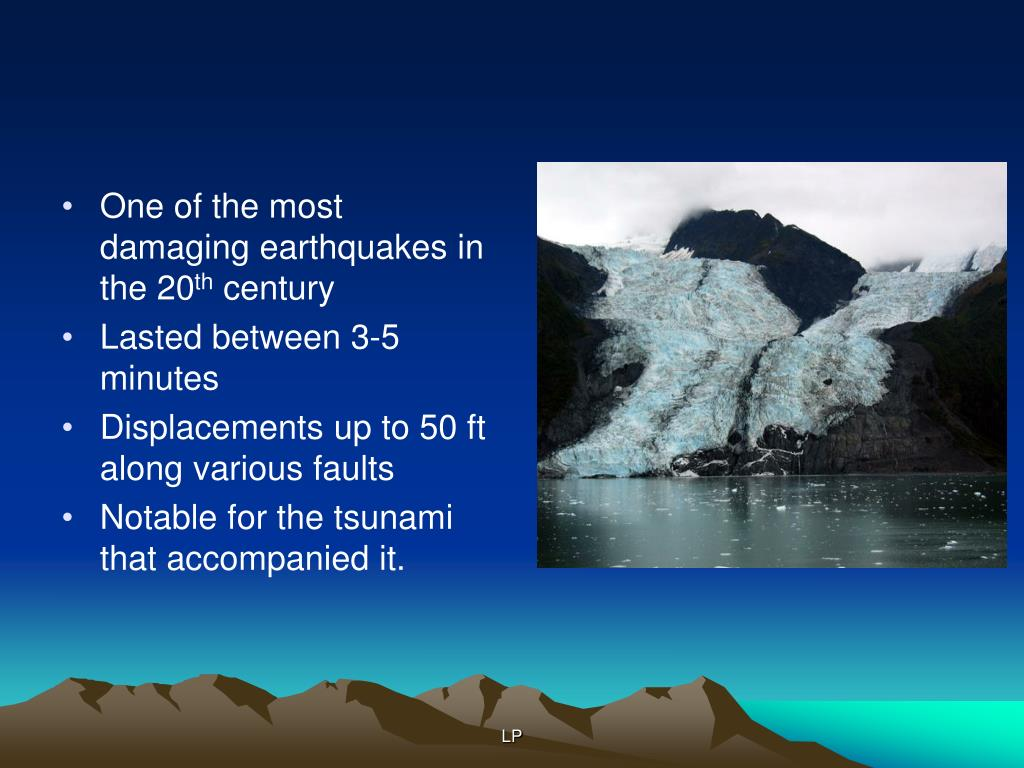 One of the most damaging earthquakes in the 20
