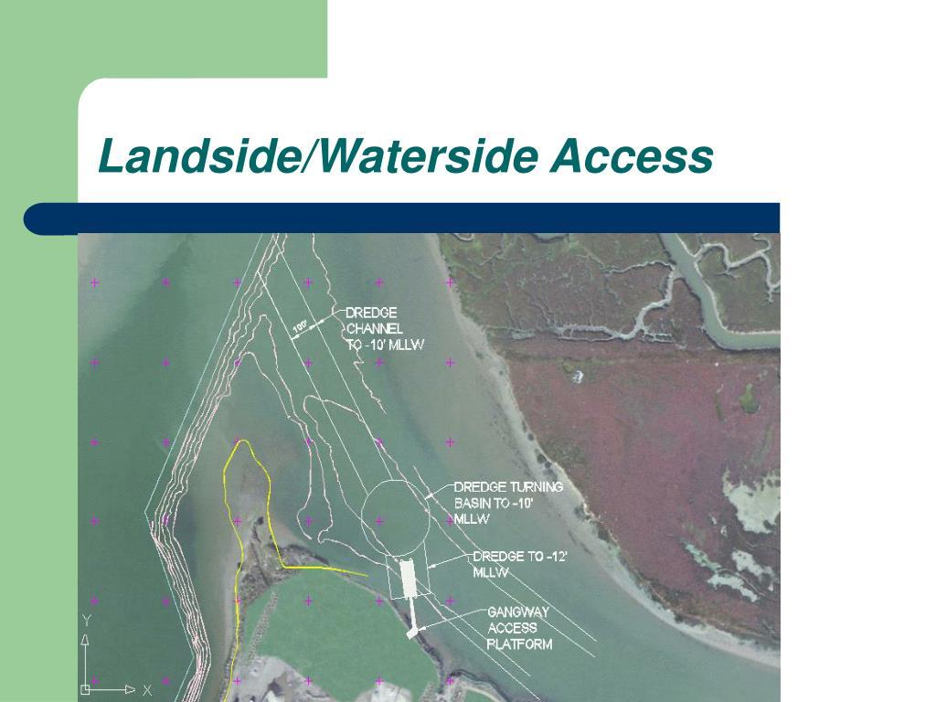 Landside/Waterside Access