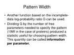 pattern width1