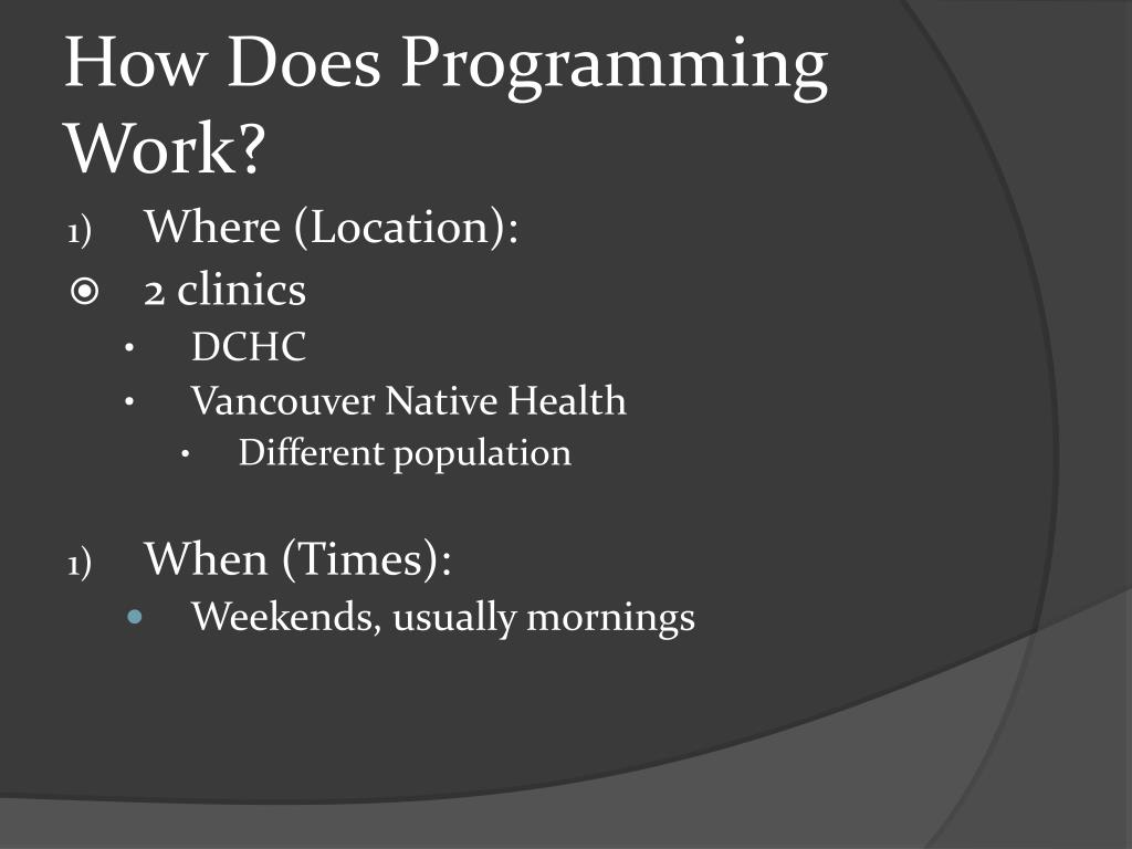 How Does Programming Work?