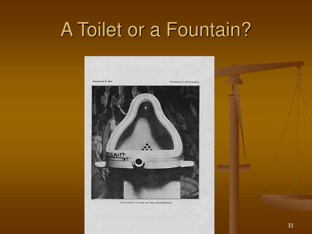 A Toilet or a Fountain?