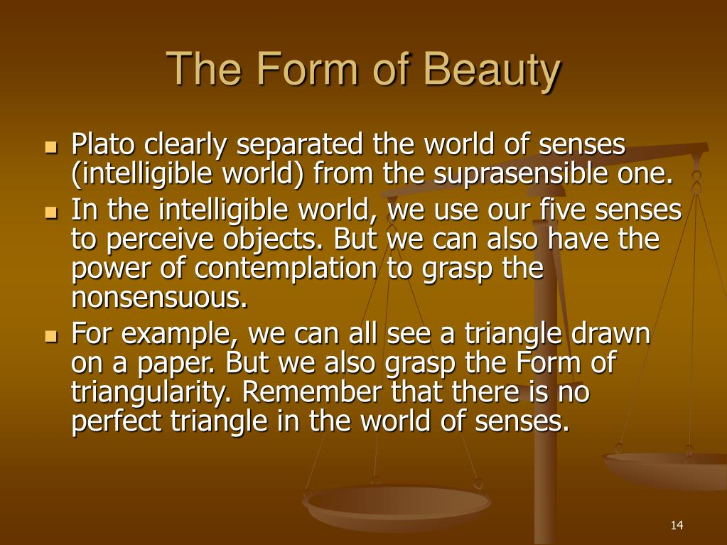 The Form of Beauty