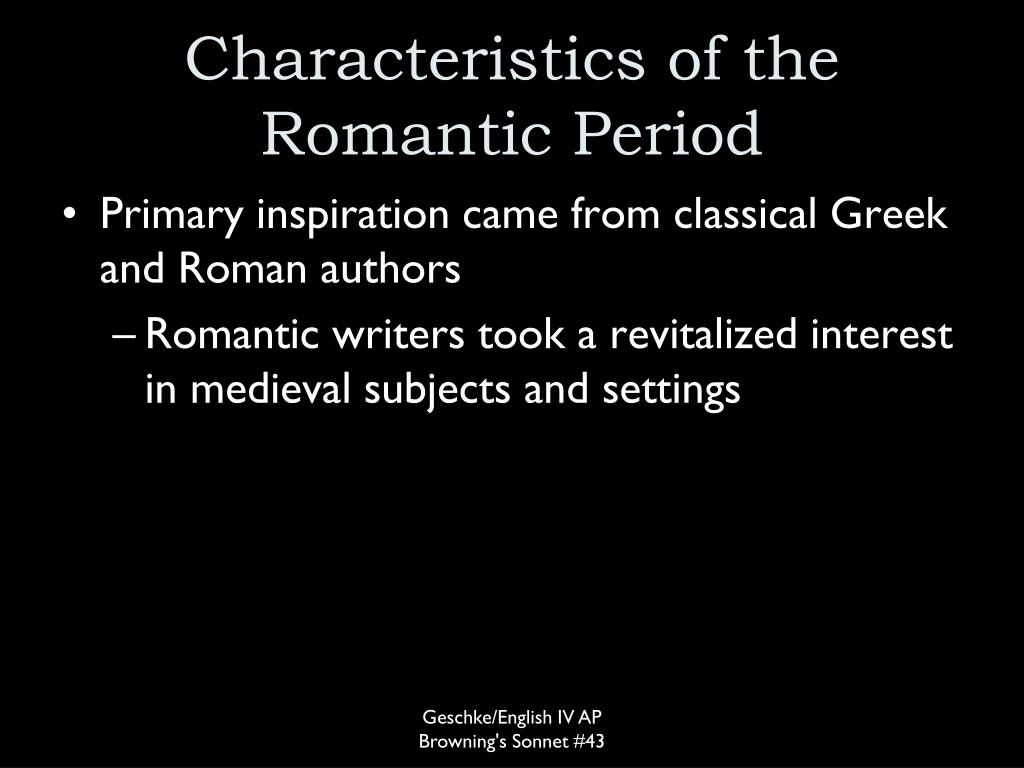 characteristics of the romantic music period