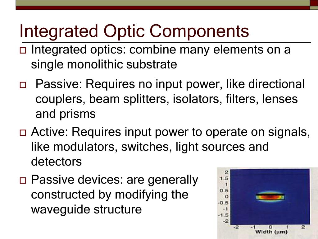 PPT - Integrated Optic Components PowerPoint Presentation