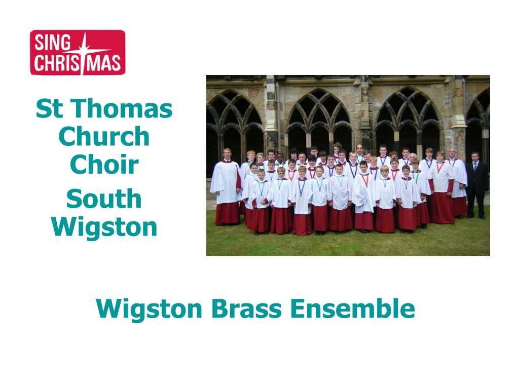 St Thomas Church Choir