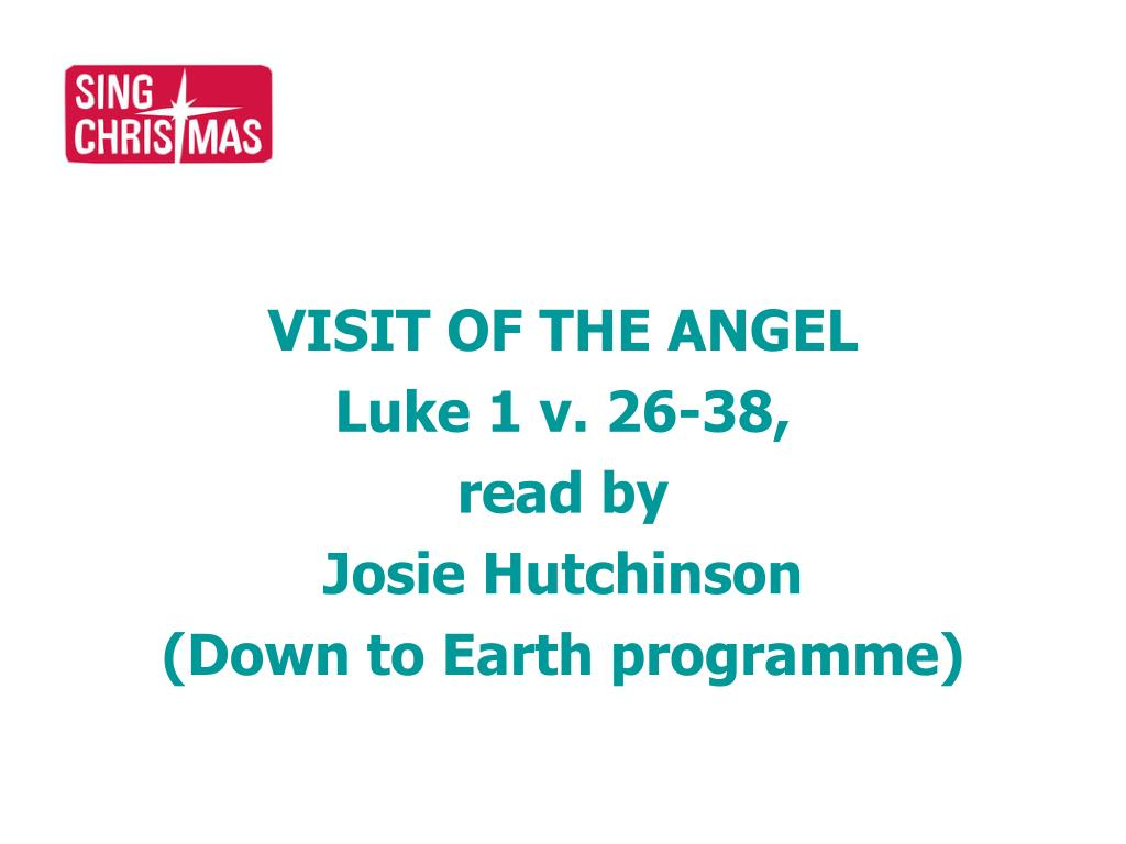 VISIT OF THE ANGEL