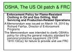 osha the us oil patch frc5